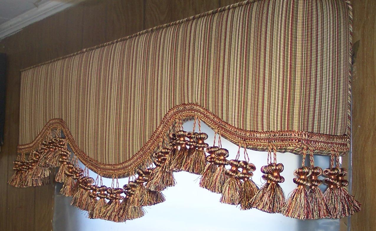 Peoria AZ upholstered cornice boards