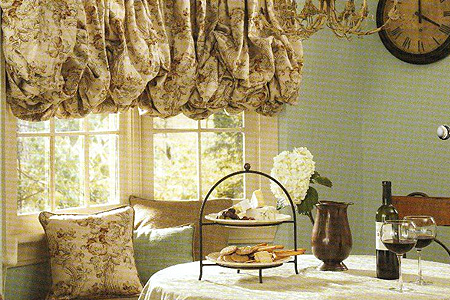Peoria Custom Fabric Shades