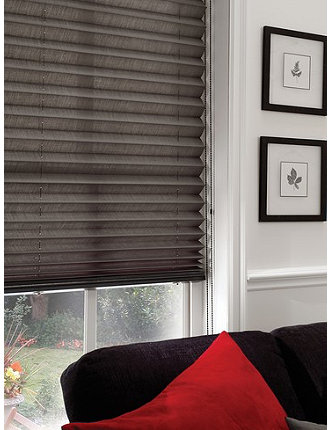 Peoria Pleated Shades