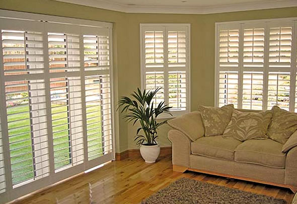 Peoria Plantation Shutters