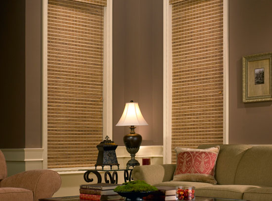 Peoria Woven Wood Shades